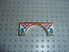 Lego 'Arch 1 x 6 x 2 with Indian Pattern Réf 3307px1 Set 7418 SCORPION PALACE