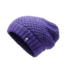 The North Face TNF Shinsky Slouch Fit Beanie (Big Girls) - S - Purple