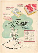 1950 Vintage ad Jewelite gift sets retro Art brushes Florence, Mass   083017