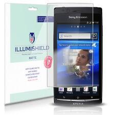 iLLumiShield Anti-Glare Matte Screen Protector 3x for Sony Ericsson Xperia Arc
