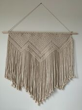 Boho Large Macrame Wall Hanging Backdrop Window Curtain Home Decor Tapestry New
