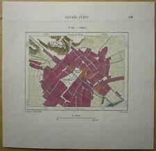 1893 Perron map CUZCO, PERU (#115)