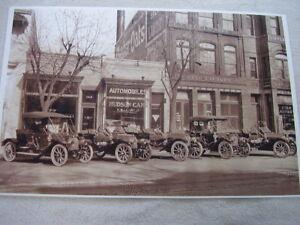 1911  HUDSON DEALERSHIP  11 X 17  PHOTO  PICTURE