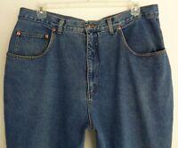 Venezia Vitale Women's Size 24 Jeans 39 x 29 Tapered Leg 100% Cotton