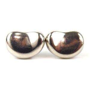 Authentic TIFFANY&Co. Elsa Peretti Bean earring SV925[Used]