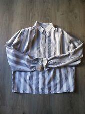 camicia vintage a righe tg.42