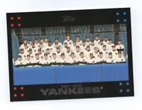 2007 TOPPS - NEW YORK YANKEES Team Set w/ Correct Derek Jeter-29 Cards