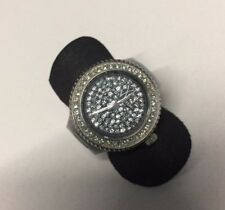 Black Toy Watch Ring