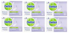 Dettol Antibacterial Bar Soap Sensitive 100 g, Pack of 6