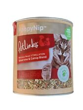 New listing Petlinks HappyNip Silvervine & Catnip Blend 1.25 Ounce Canister