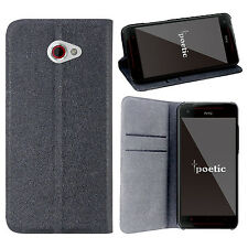 FlipBook Series PU Leather Protective Flip Cover Case for HTC Butterfly S Black