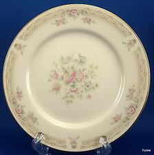 United Surgical Steel China Gold Ivory Lace Bread and Butter Plate 6.5""