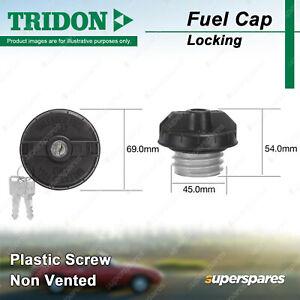 Tridon Locking Fuel Cap for Kia Magentis Mentor FB Optima GD Pride Rio Shuma FB