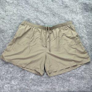 Columbia Shorts Women 3X Brown Nylon Drawstring Sandy River Plus Regular Fit