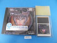 DEVIL CRASH NAXAT PINBALL Nec Pc Engine PCE HuCard Used Japan 58001