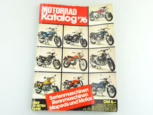 Motorrad Katalog von 1976 ca. 23x 17cm 258 Seiten #319