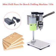 Bench Top Mini Drill Press 2 Speed Change For Woodmetal Or Plastic Table Top