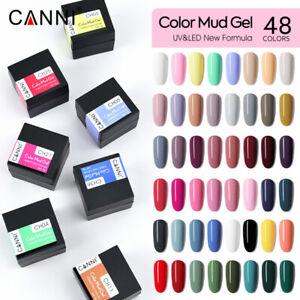CANNI® Mud Gel Soak Off UV LED Nail Varnish Gel Polish Nail Art - Non Flowing
