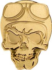 Palau $1-Golden Biker skull - 0.5g. 9999 moneda de oro