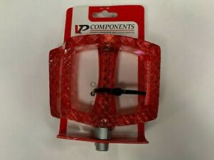 VP Components Bike Pedal Set, Wide Bicycle Pedals,12.3mm Boron Steel Spindle