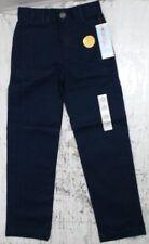 New Cat & Jack Boys School Uniform Pants Fighter Pilot Blue sz 8 Slim