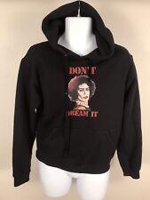 Rocky Horror Black Double Sided IT Movie Vintage Hoodie Sweatshirt Sz S