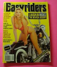 EASYRIDERS  SEPT/1997...COVERGIRL PICTORIAL WITH BIKE..DAVID MANN CENTERFOLD