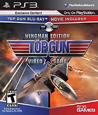 Top Gun Wingman Edition PS3! MOVIE INCLUDED! AIR COMBAT, DOGFIGHT, JETS, BATTLE