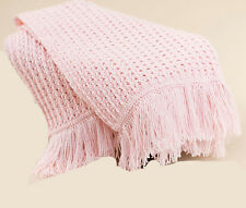 """Beautiful baby crochet blanket- Pattern only- measures 34 x 37"""" when complete"""
