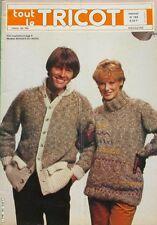 Revue de mode Catalogue de tricot - Tout le tricot n°183 - 1982 - Pull - Blouson
