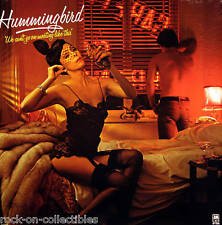 Hummingbird 1976 We Can't Go On Meeting Like This Original Promo Poster