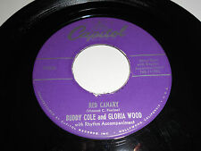 BUDDY COLE GLORIA WOOD Red Canary 45 Hello Sunshine F-2426 Capitol