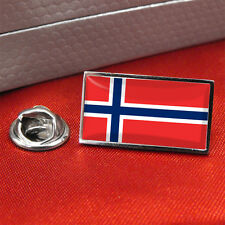 Drapeau Norvège épinglette badge / tie pin