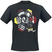 Ant-Man And The Guêpe Tête T-Shirt Noir Medium (TS777205ANW-M)