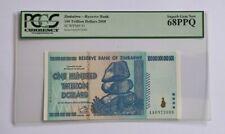 More details for zimbabwe pcgs gem unc 68 epq 100 trillion dollars