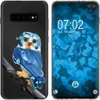 Silicone Case for Galaxy S10 Plus Silicone Case vector animals M1  Cover