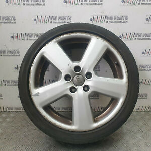 """AUDI A3 8P S-LINE 18"""" ALLOY WHEELS WITH TYRES 225/40/R18 8P0601025S 2004-2012"""