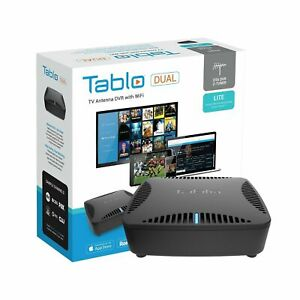 Tablo Dual LITE OTA DVR for Cord Cutters w Wifi & Automatic Commercial Open Box