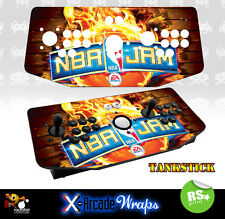 NBA Jam X Arcade Artwork Tankstick Overlay Graphic Sticker