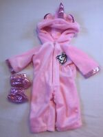 UNICORN OUTFIT JUMPSUIT FITS MY FIRST BABY ANNABELL PINK DOLL CLOTHES