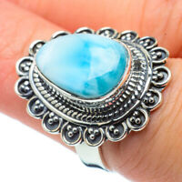 Larimar 925 Sterling Silver Ring Size 7 Ana Co Jewelry R30579F