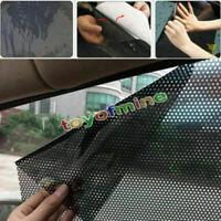2Pcs Car Rear Window Side Sun Shade Cover Block Static Cling Visor Shield Screen
