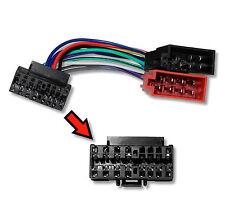 Sony autoradio Radio Adaptador Cable del adaptador DIN ISO para Sony CDX-gt, CDX-L, CDX
