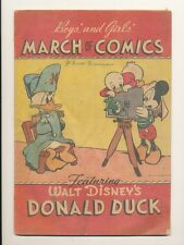 "pc-Disneyana Giveaway Comics-March of Comics #4-Donald Duck  ""Maharajah Donald"""