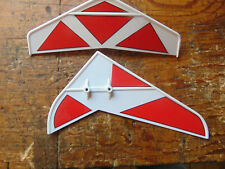 Mikado Logo 10 Tail Fin Set (A)
