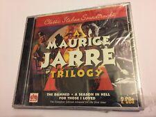 A MAURICE JARRE TRILOGY (Jarre) OOP 1995 DRG Soundtrack Score OST 2CD SEALED