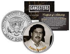 PABLO ESCOBAR El Patron Del Mal JFK Kennedy Half Dollar U.S. Colorized Coin
