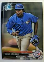 2017 17 Bowman Chrome Vladimir Guerrero Jr. Rookie RC #BCP32, Blue Jays