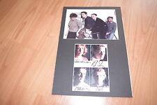 New Order signed autographes dans 20x 30 CM passe-partout inperson rar