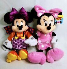 New listing Disney Minnie Mouse Plush Lot - Trick or Treat Halloween & Roadster Racers  00006000